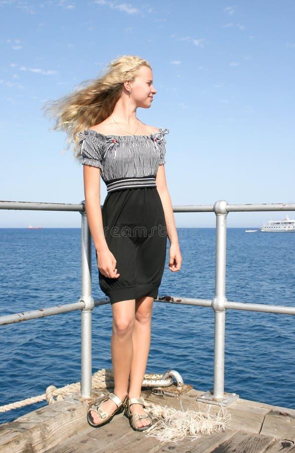 dziewczyno, blond fotografia royalty free