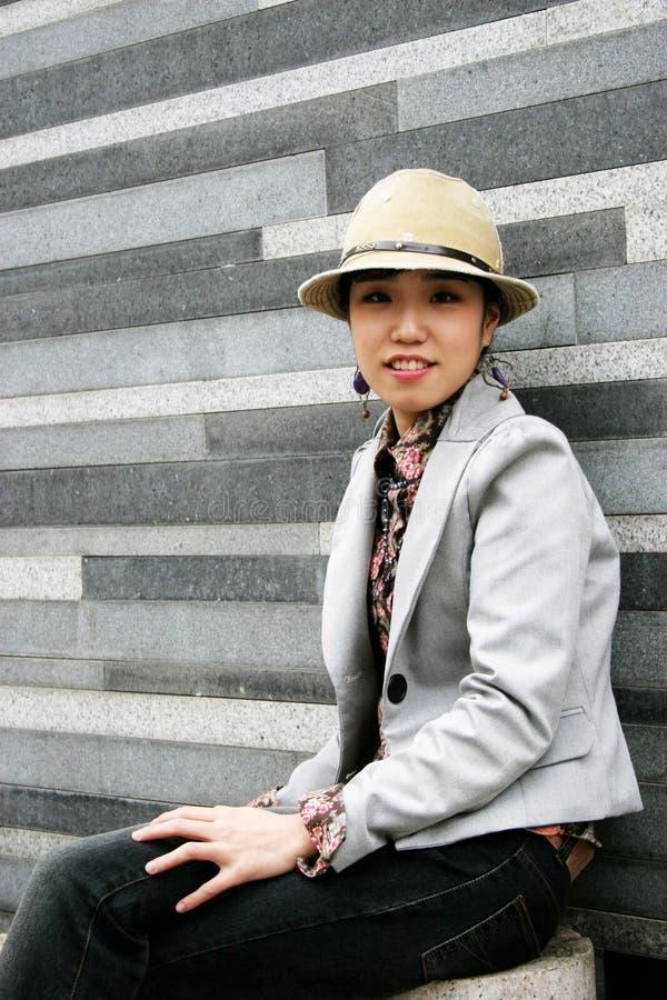 dziewczyno, koreański obrazy royalty free