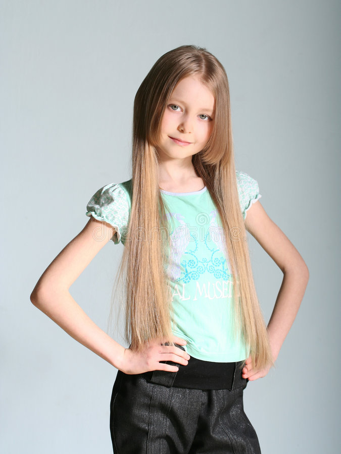 dziewczyno modela pozy obrazy stock