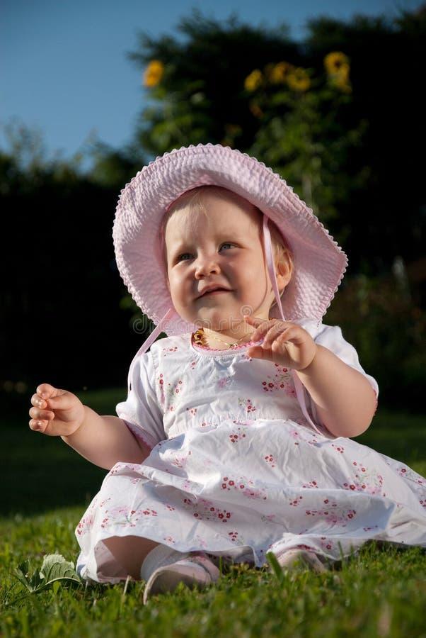 dziewczyny łąka fotografia stock