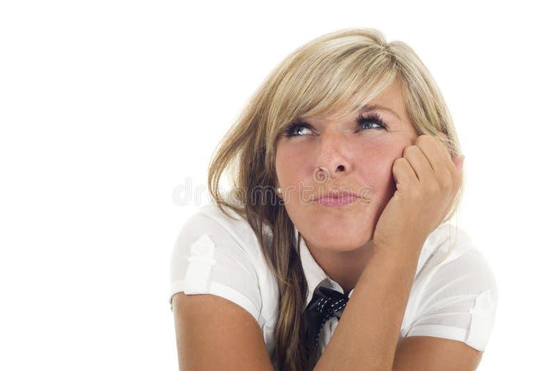 dziewczyny ładny główkowanie zdjęcie stock