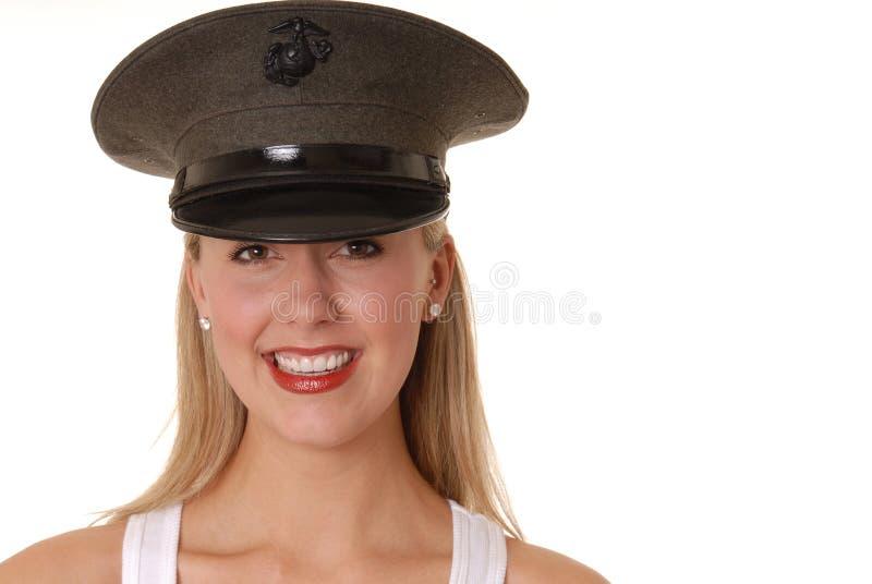 dziewczyny 7 marine zdjęcie royalty free