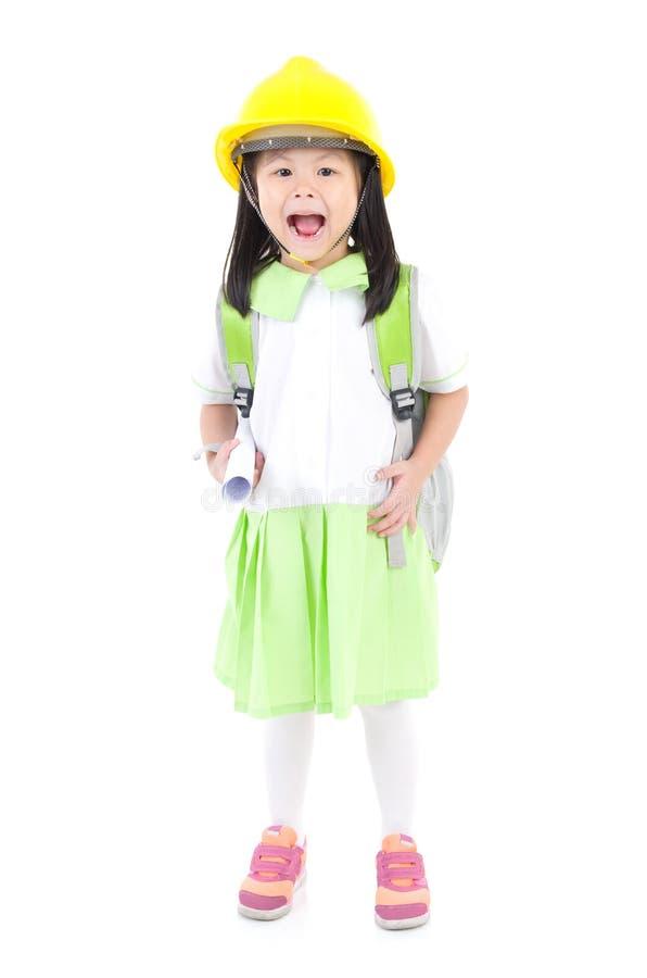 dziewczyny azjatykcia szkoły obraz stock
