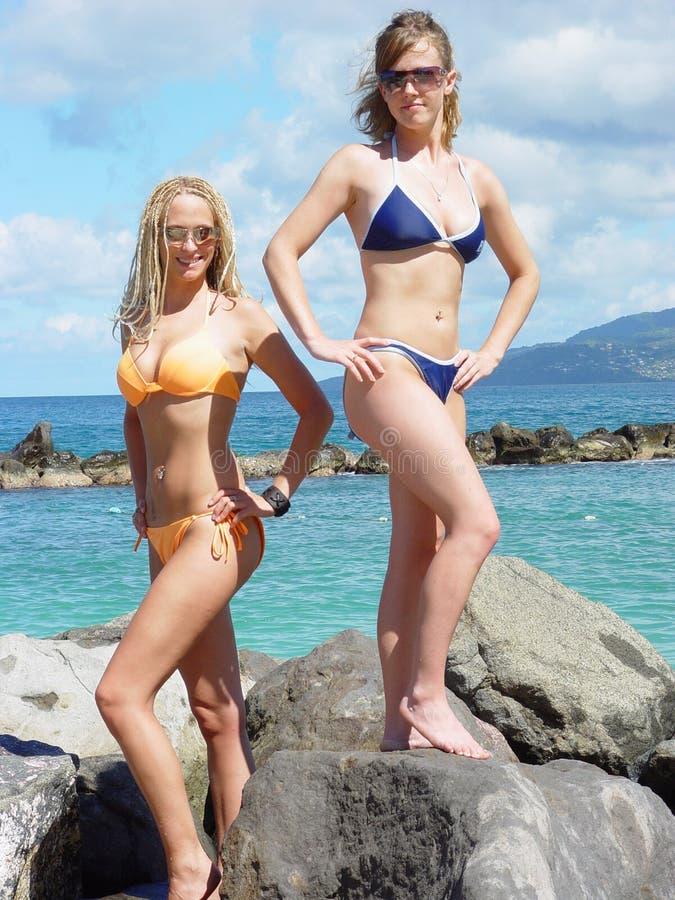 dziewczyny bikini fotografia stock