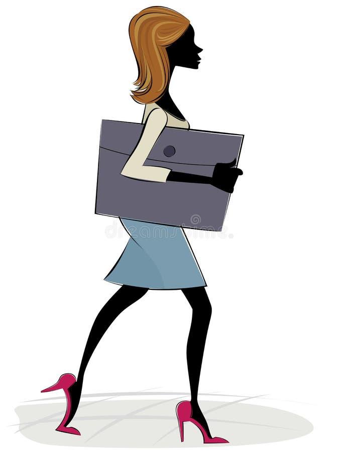 dziewczyny biuro ilustracji