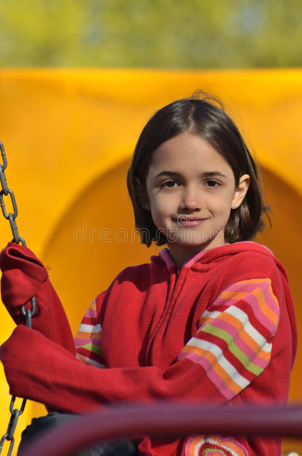 dziewczyny boisko fotografia stock