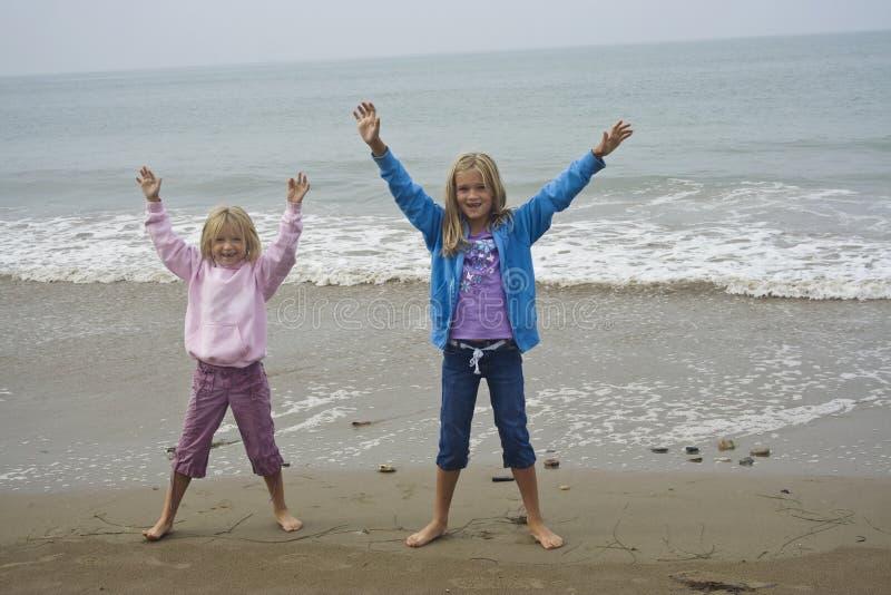 dziewczyny grać young zdjęcie royalty free