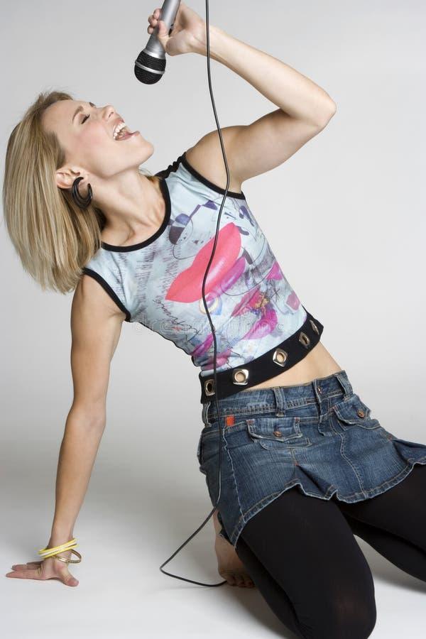 dziewczyny gwiazda rocka zdjęcie stock