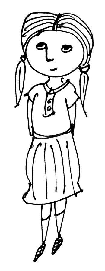 Dziewczyny ilustracja zdjęcia stock