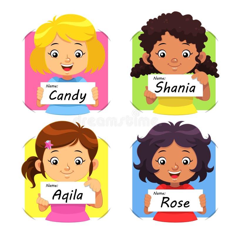 Dziewczyny imię 1 ilustracji