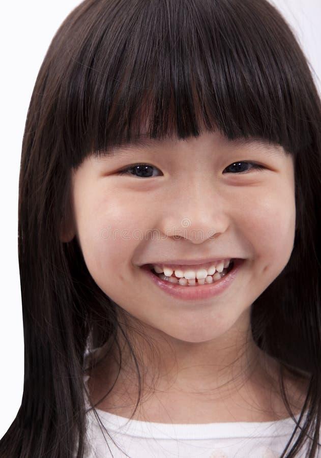 dziewczyny ja target2165_0_ szczęśliwy mały obraz royalty free