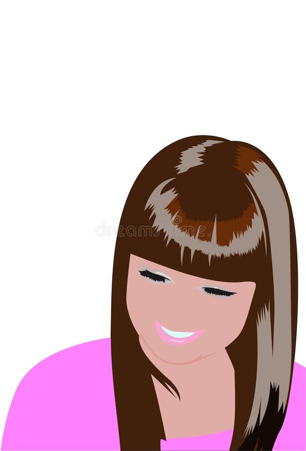dziewczyny ja target2323_0_ ilustracji