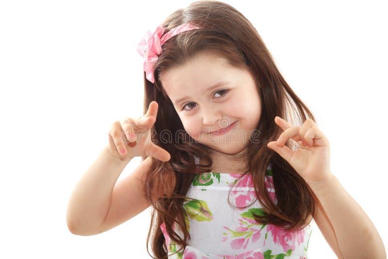 dziewczyny ja target261_0_ szczęśliwy mały obraz royalty free
