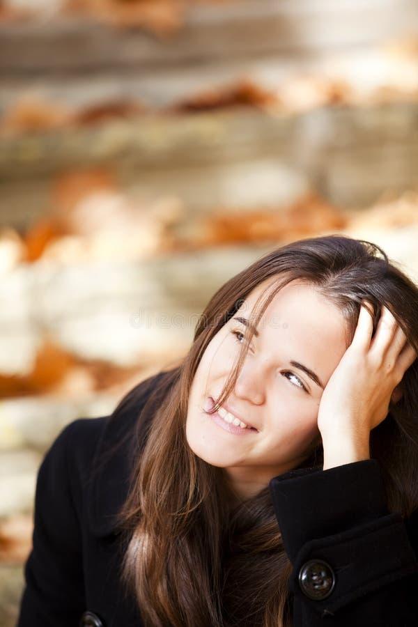 dziewczyny ja target605_0_ zdjęcia stock