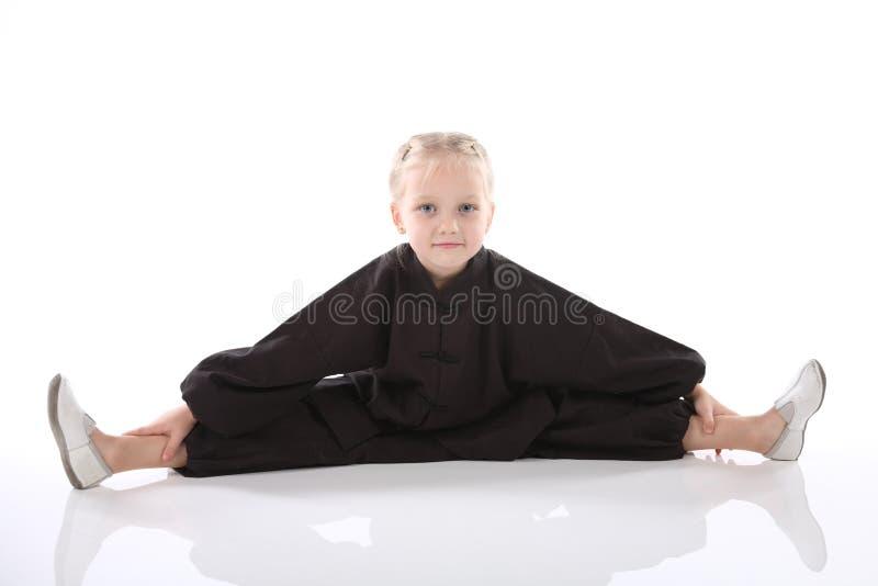 dziewczyny karateka obrazy royalty free