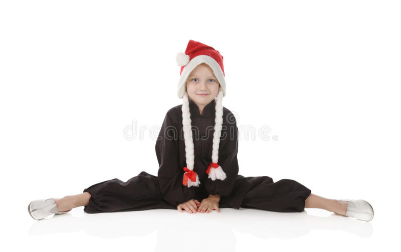 dziewczyny karateka obraz stock
