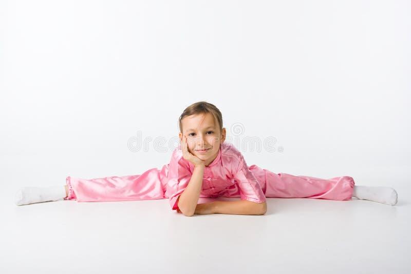 dziewczyny kimona menchie zdjęcie royalty free