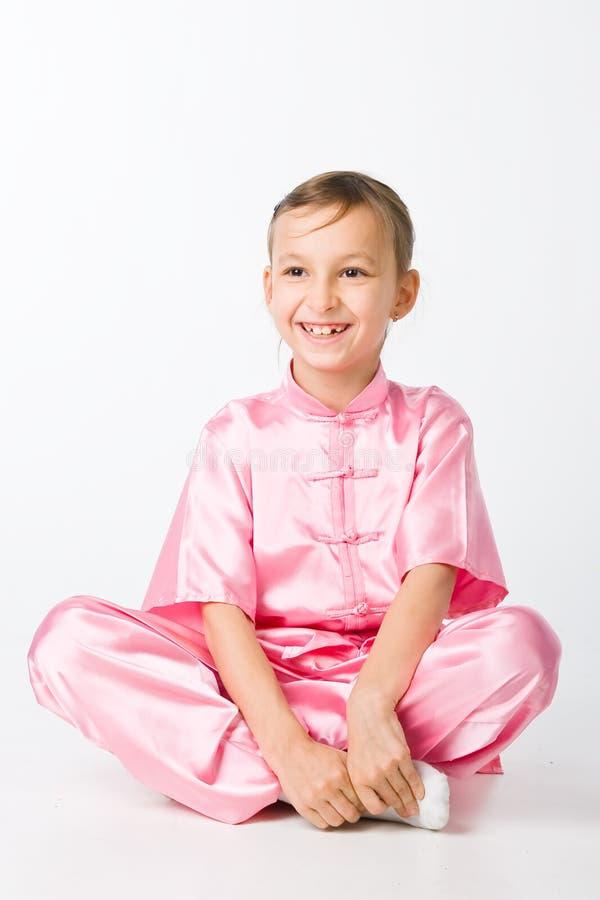 dziewczyny kimona menchie obraz royalty free