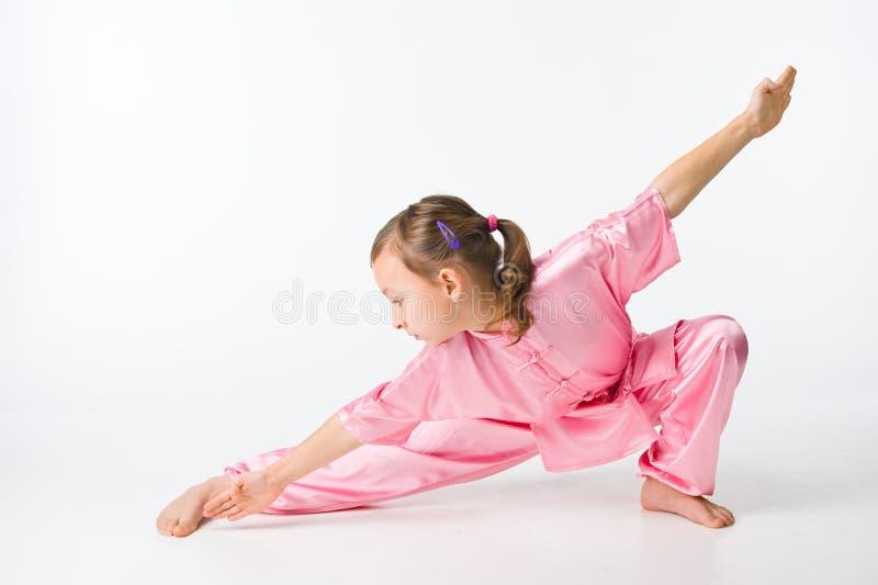 dziewczyny kimona menchie zdjęcia royalty free