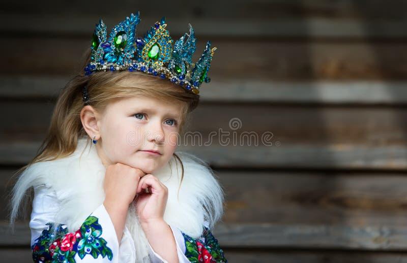 Dziewczyny królowa zdjęcia stock