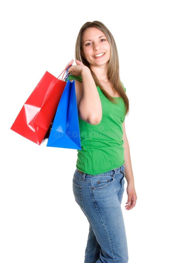 dziewczyny na zakupy nastolatków. obrazy royalty free