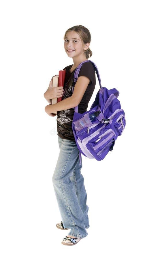 dziewczyny nastolatków w szkole obraz royalty free