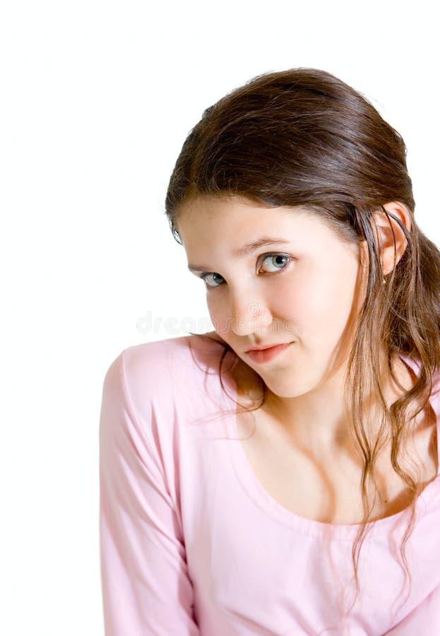 dziewczyny nastoletni uroczy zdjęcia stock
