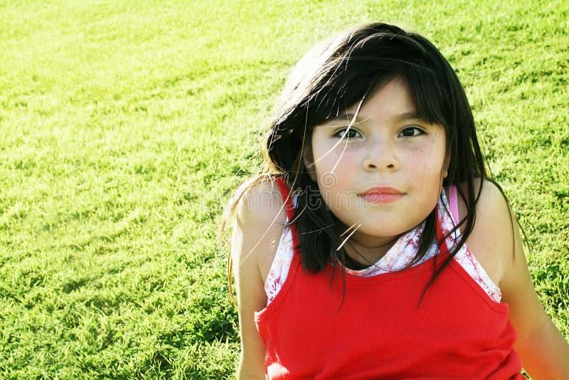 dziewczyny parka target1379_0_ zdjęcie stock