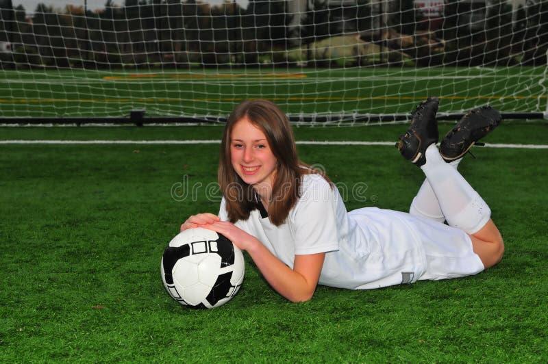 dziewczyny piłka nożna obraz royalty free