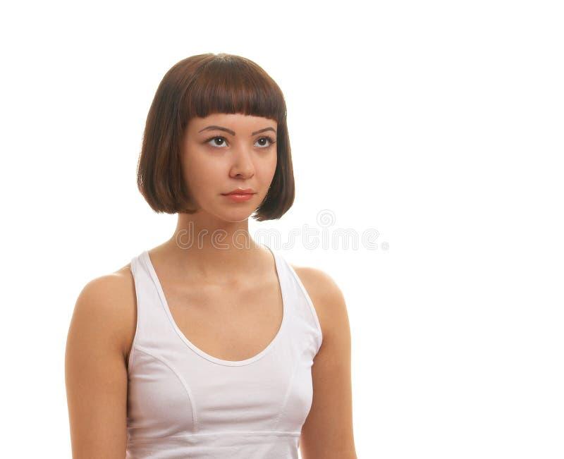 dziewczyny portarait target2156_0_ zdjęcie royalty free