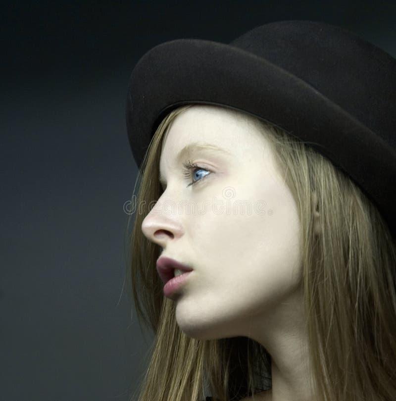 dziewczyny portraut blondie obrazy royalty free