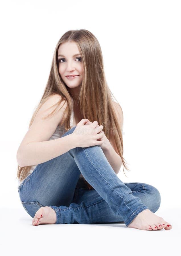dziewczyny portreta potomstwa fotografia stock