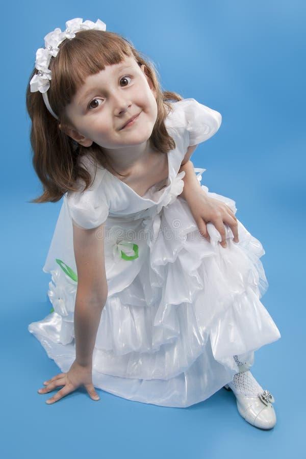 dziewczyny princess biel obraz royalty free