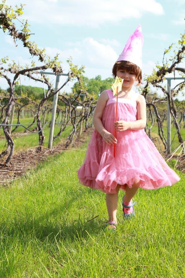 dziewczyny princess winnica zdjęcia royalty free