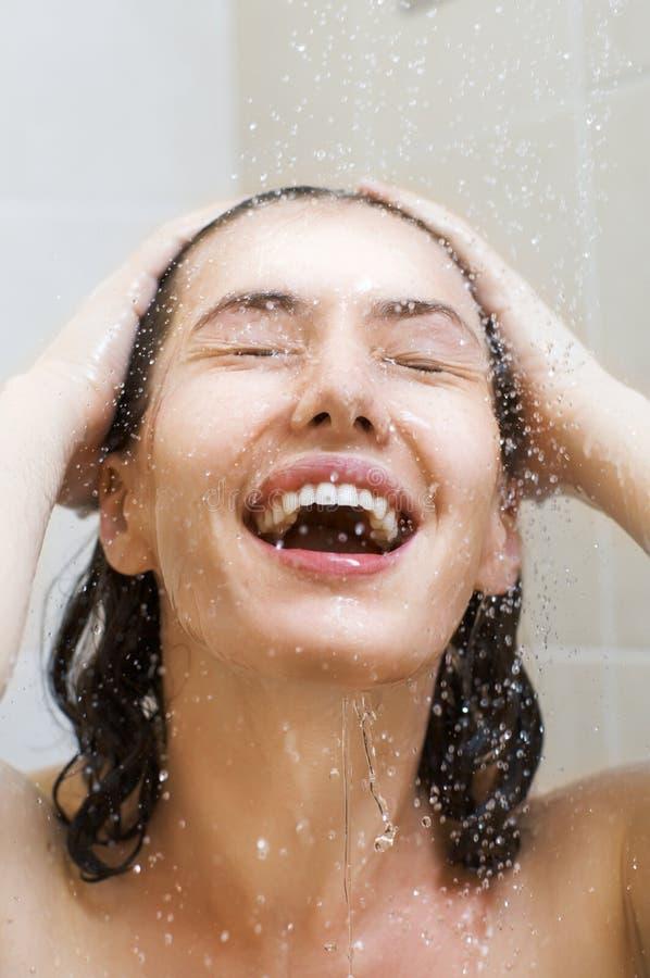 dziewczyny prysznic zdjęcia royalty free