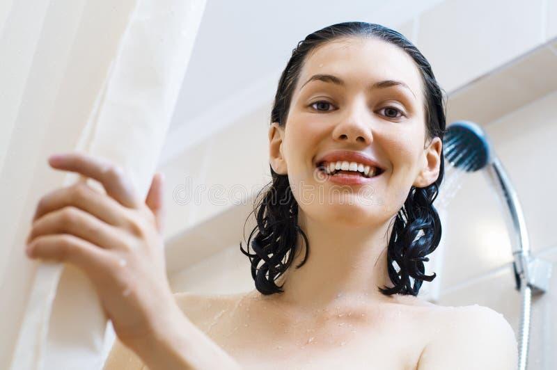 dziewczyny prysznic zdjęcie royalty free