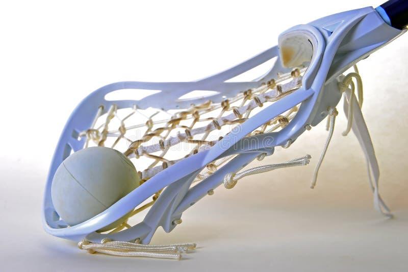 dziewczyny przewodzą lacrosse obraz royalty free