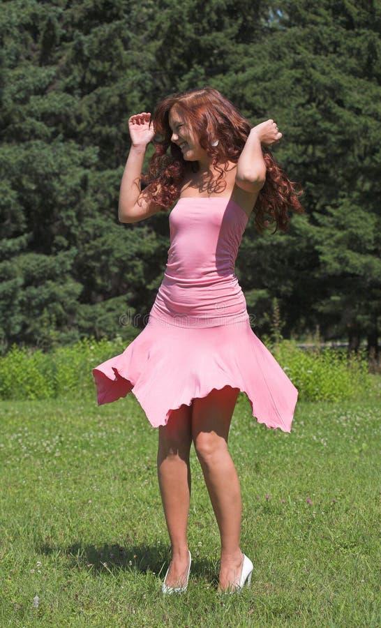 dziewczyny smokingowe różowy obrazy royalty free