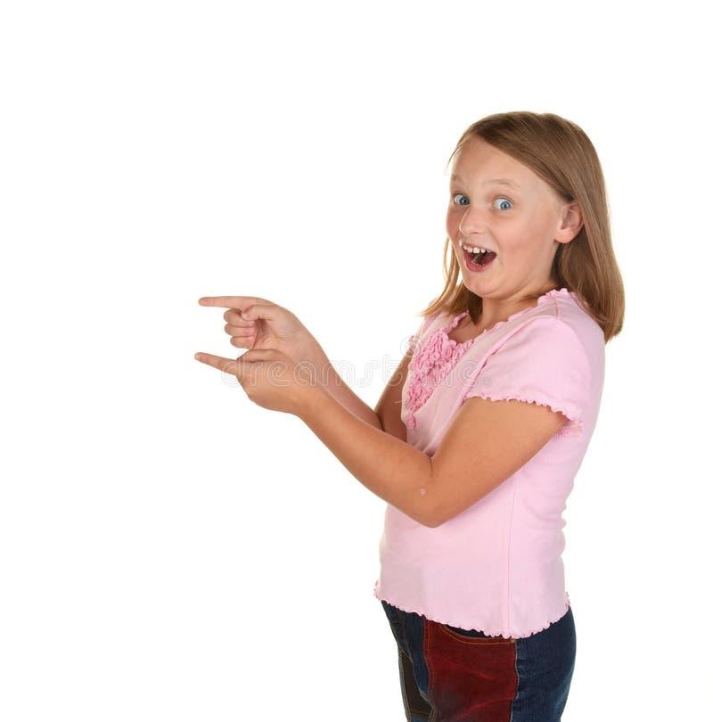 dziewczyny spojrzenia potomstwa zdjęcia stock