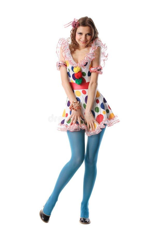 dziewczyny strony polka dot zdjęcia stock