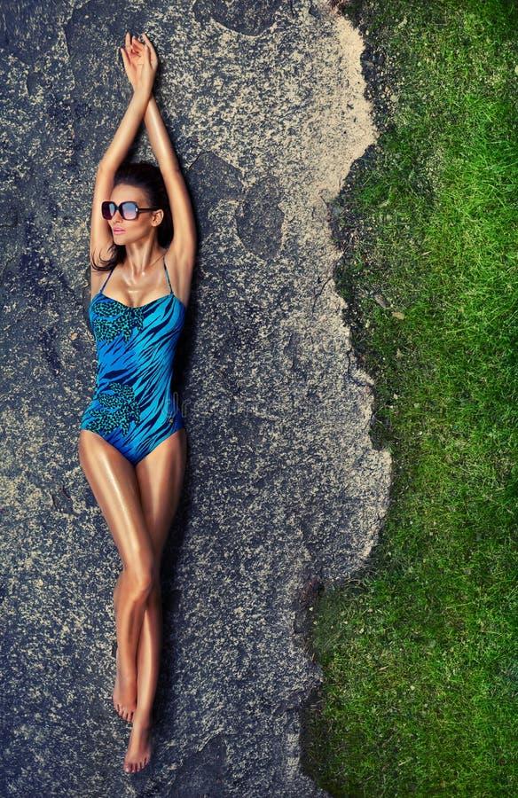 dziewczyny swimsuit zdjęcie royalty free