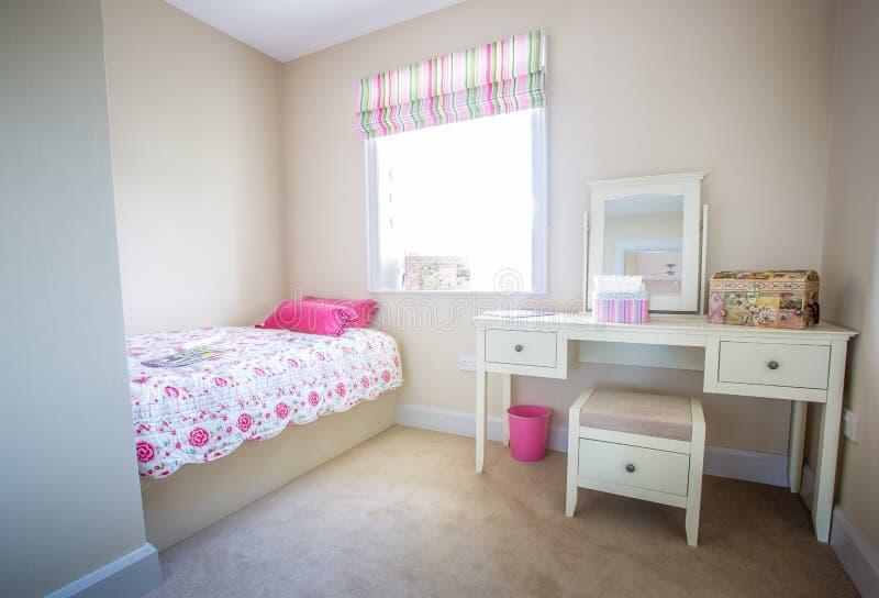 Dziewczyny sypialnia fotografia royalty free