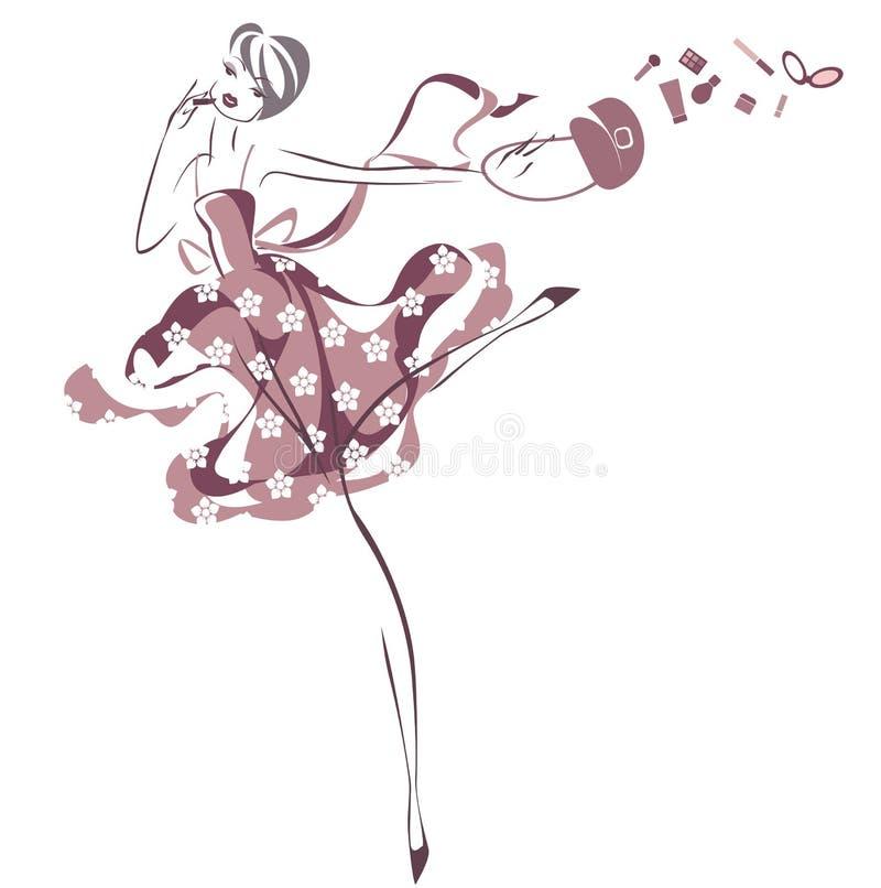 dziewczyny target2213_0_ ilustracji
