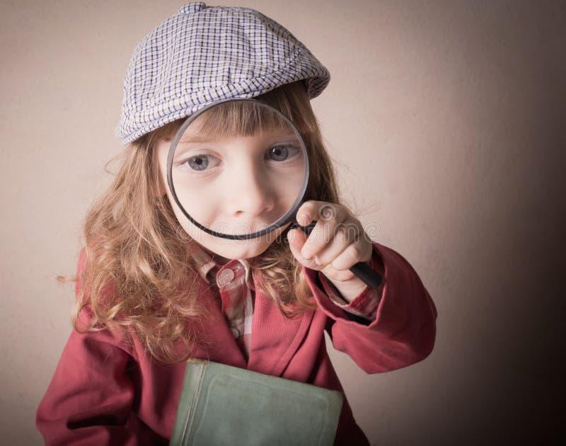 dziewczyny target1702_0_ szklany mały obraz stock
