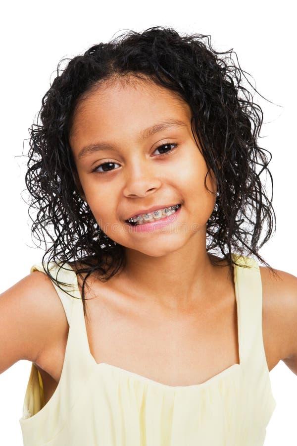 dziewczyny target1161_0_ szczęśliwy obraz stock