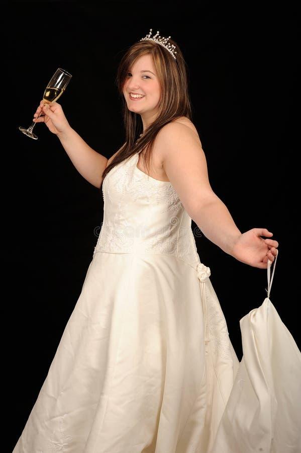 dziewczyny togi ślub zdjęcia stock