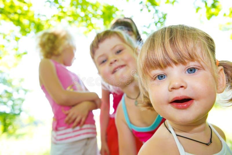 dziewczyny trochę zdjęcie stock