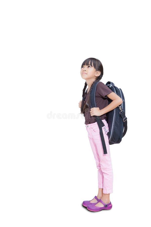 dziewczyny trochę przygotowywająca szkoła zdjęcie royalty free