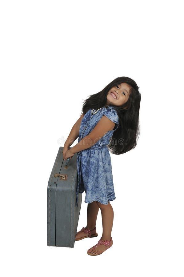 dziewczyny trochę wakacje zdjęcie stock