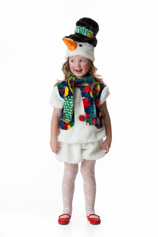 dziewczyny ubraniowa maskarada trochę zdjęcie stock